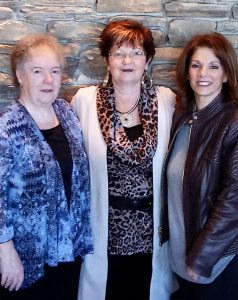 Northeast RegionTeam L-R, Donna Rhodes, Cathy Caylor, Elaine Santo