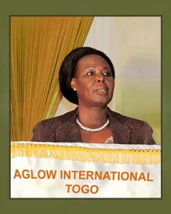 Aglow Togo National President - Agnes Akouvi Dope Eho Johnson