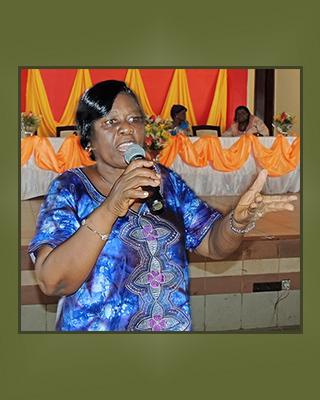Alice a. Apaloo - Vice-Presidente Chargee de la Propagation et de la Jeunesse