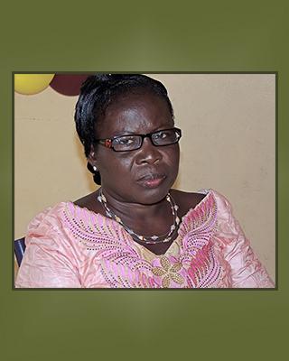 Madeleine k. Dossou - Coordinatrice Nationale de Priere